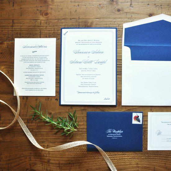 Amanda DiMinico Design - Formal Invitation Suite